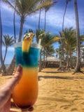 Κοκτέιλ στην παραλία στοκ εικόνα με δικαίωμα ελεύθερης χρήσης