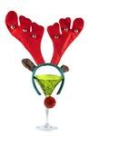 κοκτέιλ Χριστουγέννων στοκ εικόνες με δικαίωμα ελεύθερης χρήσης