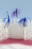 Κοκτέιλ κάστρων ζάχαρης Στοκ εικόνα με δικαίωμα ελεύθερης χρήσης