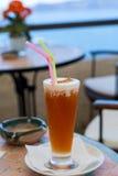 Κοκτέιλ με το χυμό μήλων Στοκ Φωτογραφίες