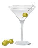κοκτέιλ ξηρό martini Στοκ Εικόνες