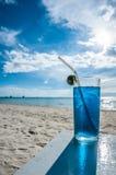 Κοκτέιλ στην παραλία Boracay, Φιλιππίνες Στοκ εικόνα με δικαίωμα ελεύθερης χρήσης
