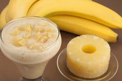 Κοκτέιλ της μπανάνας. Στοκ εικόνες με δικαίωμα ελεύθερης χρήσης
