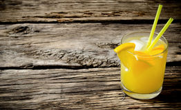 Κοκτέιλ των φρέσκων πορτοκαλιών Στοκ εικόνες με δικαίωμα ελεύθερης χρήσης