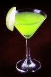 Κοκτέιλ - Apple martini (Appletini) Στοκ Εικόνες
