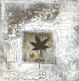 κολάζ έργου τέχνης γκρίζο Στοκ Εικόνες