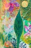 κολάζ έργου τέχνης Στοκ Εικόνες