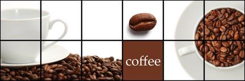 Κολάζ καφέ Στοκ Εικόνες