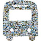 Κολάζ φωτογραφιών των φωτογραφιών ταξιδιού - λεωφορείο μωσαϊκών Στοκ εικόνα με δικαίωμα ελεύθερης χρήσης