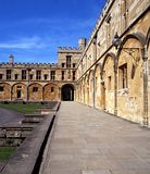 Κολλέγιο εκκλησιών Χριστού, Οξφόρδη, Αγγλία. Στοκ φωτογραφία με δικαίωμα ελεύθερης χρήσης