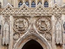 Κολλέγιο Καίμπριτζ Αγγλία βασιλιάδων Στοκ Εικόνες