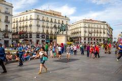 ΚΟΛΛΟΕΙΔΕΣ ΔΙΆΛΥΜΑ Μαδρίτη Ισπανία Στοκ εικόνα με δικαίωμα ελεύθερης χρήσης