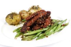 κολλώδης λουρίδα γεύμα& Στοκ φωτογραφία με δικαίωμα ελεύθερης χρήσης