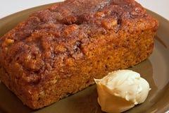 κολοκύθα καρυδιών ψωμι&omic Στοκ φωτογραφία με δικαίωμα ελεύθερης χρήσης