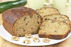 κολοκύθια καρυδιών ψωμ&iota στοκ φωτογραφία με δικαίωμα ελεύθερης χρήσης