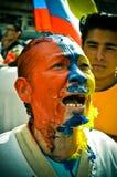 κολομβιανή ειρήνη Στοκ εικόνα με δικαίωμα ελεύθερης χρήσης