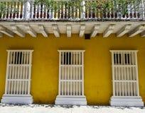 Κολομβιανή όμορφη ΠΟΛΗ Καρχηδόνα Στοκ εικόνες με δικαίωμα ελεύθερης χρήσης