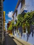 Κολομβιανή όμορφη ΠΟΛΗ Καρχηδόνα Στοκ εικόνα με δικαίωμα ελεύθερης χρήσης