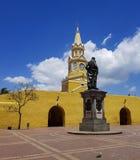 Κολομβιανή όμορφη ΠΟΛΗ Καρχηδόνα Στοκ Φωτογραφίες