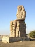 κολοσσοί Αίγυπτος memnon Στοκ φωτογραφίες με δικαίωμα ελεύθερης χρήσης