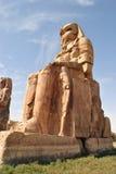 Κολοσσοί Memnon Στοκ φωτογραφία με δικαίωμα ελεύθερης χρήσης