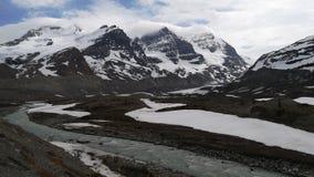 Κολούμπια icefield στοκ εικόνα