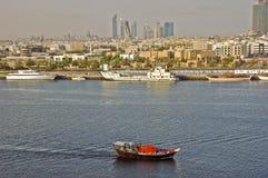 κολπίσκος Ντουμπάι Στοκ φωτογραφία με δικαίωμα ελεύθερης χρήσης