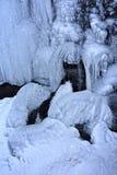 κολπίσκος παγωμένος Στοκ Φωτογραφία