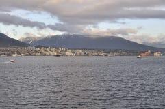 Κολπίσκος Burrard και βόρεια ακτή Στοκ εικόνα με δικαίωμα ελεύθερης χρήσης