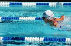 κολυμβητής πεταλούδων Στοκ φωτογραφία με δικαίωμα ελεύθερης χρήσης