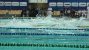 Κολυμπήστε το ύφος σέρνεται, άτομα φιλμ μικρού μήκους