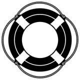 Κολυμπήστε eps επιπλεόντων σωμάτων δαχτυλιδιών τη διανυσματική απεικόνιση από τα crafteroks διανυσματική απεικόνιση