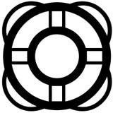 Κολυμπήστε eps επιπλεόντων σωμάτων δαχτυλιδιών τη διανυσματική απεικόνιση από τα crafteroks ελεύθερη απεικόνιση δικαιώματος