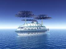 Κολυμπώντας αεροσκάφος φαντασίας απεικόνιση αποθεμάτων