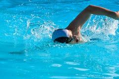 κολύμβηση ατόμων Στοκ Εικόνα