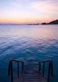 κολύμβηση θάλασσας λιμνώ& Στοκ εικόνες με δικαίωμα ελεύθερης χρήσης
