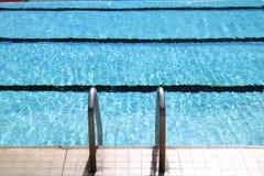 κολύμβηση λιμνών Στοκ Εικόνες