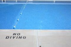 κολύμβηση λιμνών στοκ φωτογραφία
