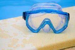 κολύμβηση προστατευτικών διόπτρων Στοκ Εικόνες