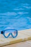 κολύμβηση προστατευτικών διόπτρων Στοκ εικόνες με δικαίωμα ελεύθερης χρήσης