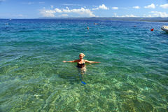 κολύμβηση Στοκ Εικόνα
