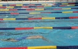 κολύμβηση Στοκ φωτογραφία με δικαίωμα ελεύθερης χρήσης