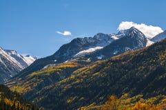 Κομητεία Gunnison σειράς βουνών αλκών βουνών εδρών Στοκ φωτογραφίες με δικαίωμα ελεύθερης χρήσης