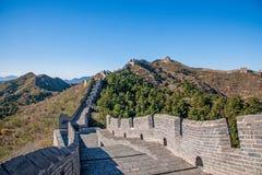 Κομητεία Luanping, Σινικό Τείχος Hebei Jinshanling Στοκ Φωτογραφία