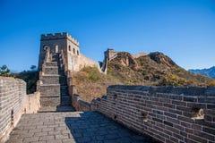 Κομητεία Luanping, Σινικό Τείχος Hebei Jinshanling Στοκ Φωτογραφίες