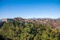 Κομητεία Luanping, Σινικό Τείχος Hebei Jinshanling Στοκ Εικόνες