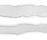 κομμάτια εγγράφου που σχίζονται Στοκ Φωτογραφία
