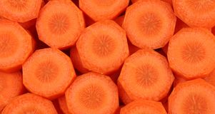 κομμάτια καρότων Στοκ φωτογραφία με δικαίωμα ελεύθερης χρήσης