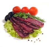 κομμάτια κρέατος αποκοπώ&n Στοκ εικόνες με δικαίωμα ελεύθερης χρήσης