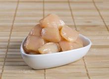 Κομμάτια κρέατος κοτόπουλου στοκ εικόνα με δικαίωμα ελεύθερης χρήσης